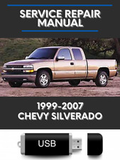 Chevrolet Silverado 1999-2007 Service Repair Chevy Workshop + Wiring Manual Usb