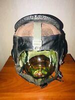 Soviet Union Leather Light Helmet Pilot Aviator USSR Cold War Paratrooper Summer