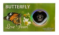 """Love Pearl Creations Butterfly Necklace Jewelry Kit with 16"""" Stainless Chain"""