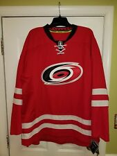 Carolina Hurricanes REEBOK EDGE Authentic NHL RED Jersey size 60  3XL BRAND  NEW 38f000c93