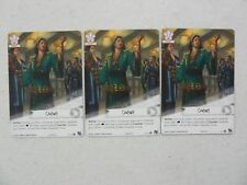 L5R Showdown Stronghold x3 Promo Full Art OUTWIT Legend of the Five Rings LCG