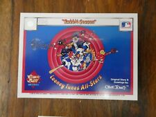 Looney-Tunes All Star cards Like Mint Condition Combic Ball BOXED BASEBALL