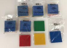 Lot Of 6 Eta Cuisenaire Math Manipulatives Plastic Tangrams Sets 4 Colors #1515