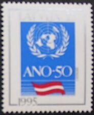 50th anniversary of the U.N.O. stamp, Latvia, 1995, emblem, SG ref: 420, MNH
