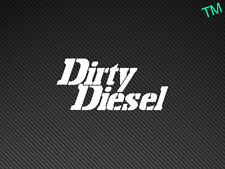 Dirty Diesel Car Van Sticker Decal 4x4 Off Road Vinyl