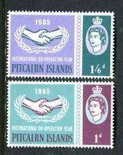1965 Pitcairn Island International Co-Operation Year Muh