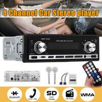 12V bluetooth Car Radio Stereo Player In-dash MP3/USB/SD/FM/AUX Head Unit Non UK