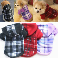 Pets Dog Hoodie Coat Clothes Jacket Puppy Cat Winter Warm Hooded Costume Apparel