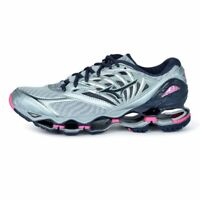 Mizuno Wave Prophecy 8 Women's Running Shoes Quarry Graphie Pink J1GD190053 18N