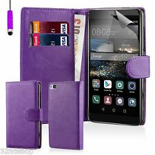 32nd Book Wallet PU Leather Case Cover for Huawei Phones