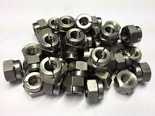 (QTY 10) M8 STAINLESS STEEL GENUINE AEROTIGHT® ALL METAL SELF LOCKING NUTS