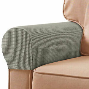 Removable Arm Chair Slipcovers Protector Sofa Covers Armrest Stretch Furniture