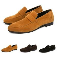 Men Low Top Business Shoes Work Office Pointy Toe Slip on Wedding Formal Party D