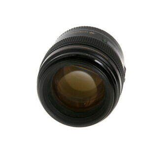Canon 85mm f/1.8 USM EF-Mount Lens Autofocus {58} (Black) - (UG)