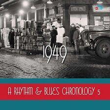 Various Artists - A Rhythm & Blues Chronology 5 1949 (NEW 4 x CD)