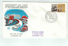 1969 CENTENARY NORTHERN TERRITORY SETTLEMENT Excelsior SILVER  First Day Cover
