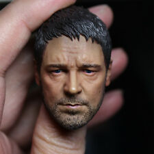 """1/6 Scale Russell Crowd Gladiator Head Sculpt For Male 12"""" Action Figure Body"""