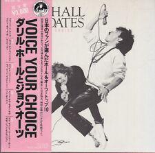 """daryl hall & john oates voice your choice 5 x 7"""" japan box"""