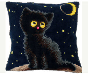 EMBROIDERY COUNTED CROSS STITCH KIT CHARIVNA MIT RT-160 UNDER THE MOON
