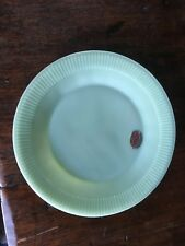 """Fire King Jadeite JANE RAY 9"""" DINNER PLATE Oven Ware Anchor Hocking Green Unused"""