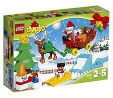 LEGO Duplo 10837 Santa's Winter Holiday~Sleigh~Christmas Tree~Snowman~new
