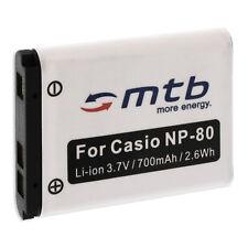 Akku NP-80 NP80 für Casio Exilim EX-Z550, Z800, ZS5, ZS100