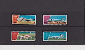 FIJI  25th Anniversary of Air Services Set MNH Scott 367-370
