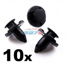 10x Wheel Arch Lining / Splashguard Clips for Nissan- 8mm Plastic Trim Clips