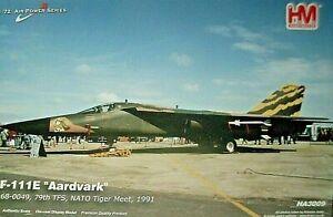 """HOBBY MASTER F-111E Aardvark, 27th FW, Upper Heyford.""""Tiger Meet""""- Fairford. NEW"""