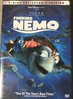 Finding Nemo 2-Disc Collectors Edition DVD Box Set 2003 Disney Pixar