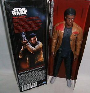 """STAR WARS The Force Awakens Figurine FINN[JAKKU]  11"""" Tall"""