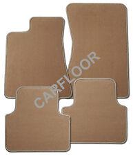 Für Seat Arosa Bj. ab 01.01 Fußmatten 4-teilig in Velours savannenbeige Deluxe