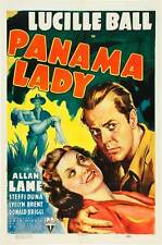 PANAMA LADY Movie POSTER 27x40 Lucille Ball Allan Lane Steffi Duna Evelyn Brent