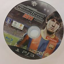 World Soccer Winning Eleven 2011 (Sony PlayStation 3, 2010)  DISC ONLY #9054