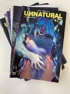 Unnatural #1-12 Complete Run  Mirka Andolfo Image Hot Variants HTF first Prints