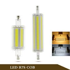 8/12W R7S COB LED Lights1000LM Power Corn Bulb Lamp AC85-265V Super Bright,