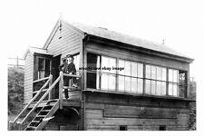 pt2755 - Railway Signal Box , Liversedge , Yorkshire - photograph 6x4