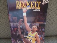 Kareem Abdul Jabbar/Los Angeles Lakers/Beckett Basketball Card Monthly July 1991
