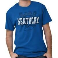 Kentucky Student University Football College Adult Short Sleeve Crewneck Tee