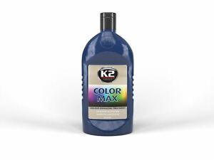K2 K025GR Dark Blue Colored wax COLOR MAX 500ml