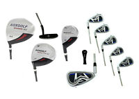 AGXGOLF BOYS LEFT HAND TWEEN MAGNUM COMPLETE GOLF CLUB SET wDRIVER+IRONS+PUTTER