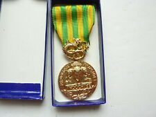 French Indochina War Medal In Box