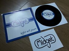 "Midget 7"" Single Kylie and Jason Pathetically Devoted To You 1997 INDIE ROCK"