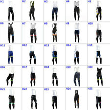 NEW mens team Thermal Fleece cycling bib pants cycling pants  cycling bib shorts