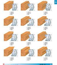 Profilmesser 50 x 4 mm + Abweiser 48 x 4 mm 1 Paar von Flury-Systems Nr. 500-558