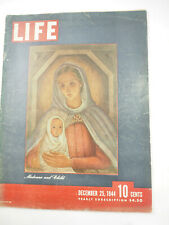 Life Magazine December 25, 1944 - Madonna and Child
