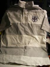 POLO by RALPH LAUREN Striped Short Sleeve Rugby Shirt Size L Large