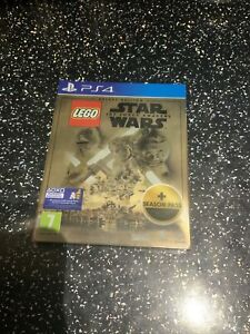 SONY PLAYSTATION 4 PS4 Lego Star Wars The Force Awakens Deluxe Steelbook Edition