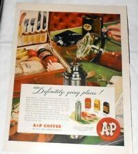 1947 Life Magazine Advertisement A & P Coffee and Pepsodent Toothpaste