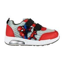 Spiderman Led Light Kids Shoes Trainers Sneakers Original Licensed Spiderman ...